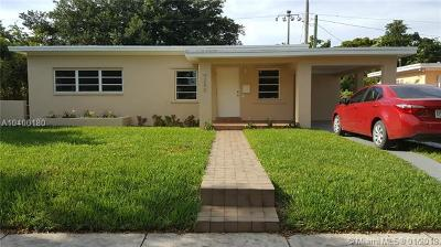 West Miami Single Family Home For Sale: 6280 SW 16th Ter