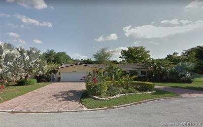 Coral Springs Single Family Home For Sale: 11300 NW 23rd Ct