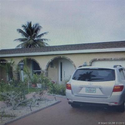 Sunrise Single Family Home For Sale: 4081 NW 115th Ter