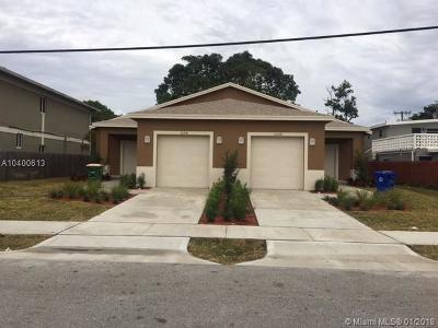 Fort Lauderdale Multi Family Home For Sale: 1106 NE 1 Ave