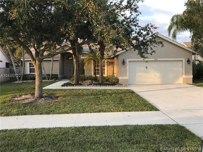 Pompano Beach Single Family Home For Sale: 4713 NW 75th Pl