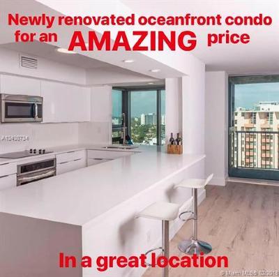 Miami Beach Condo For Sale: 2655 Collins Ave #2005