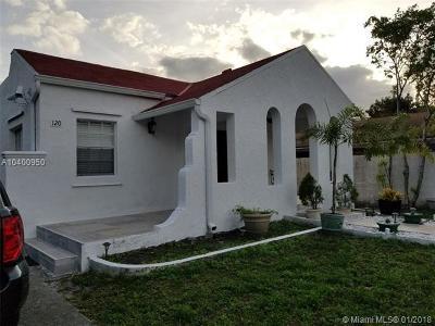 Miami Single Family Home For Sale: 120 NE 50th Ter