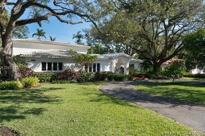 Coral Gables Single Family Home For Sale: 5901 Maynada St