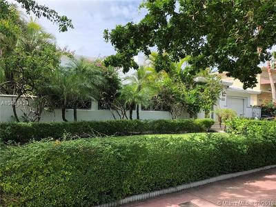 Miami Beach Single Family Home For Sale: 5650 Pine Tree Dr