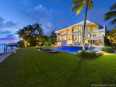 Key Biscayne Single Family Home For Sale: 500 S Mashta Dr