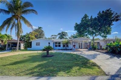 Oakland Park Single Family Home For Sale: 3430 NW 20th Ave