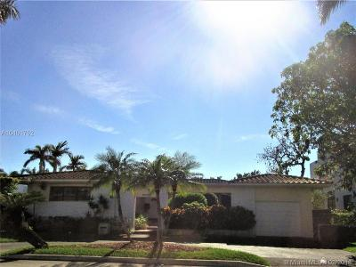 Bay Harbor Islands Single Family Home Active Under Contract: 1330 98th St