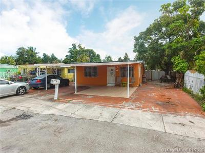 Miami Single Family Home For Sale: 3598 NW 99th St
