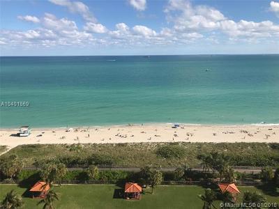 Miami Beach Condo For Sale: 2555 Collins Ave #1707