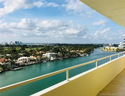 Miami Beach Condo For Sale: 5600 Collins Ave #15-S