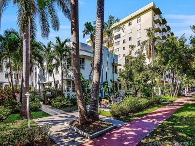 Miami Beach Condo For Sale: 1000 Meridian Ave #15