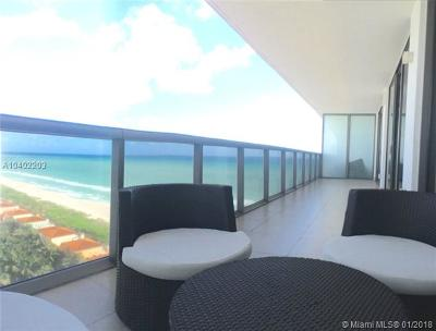 Miami Beach Condo For Sale: 5875 Collins Ave #1805