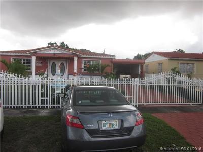 Hialeah Single Family Home For Sale: 152 E 58th St