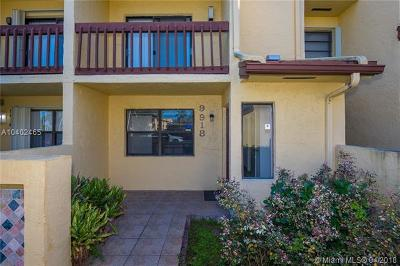 Doral Condo For Sale: 9918 NW 41st St #10