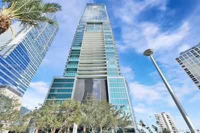 Echo Brickell, Echo Brickell Condo Condo For Sale: 1451 Brickell Ave #2706