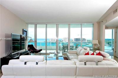 Miami Beach Condo For Sale: 1000 S Pointe Dr #1104