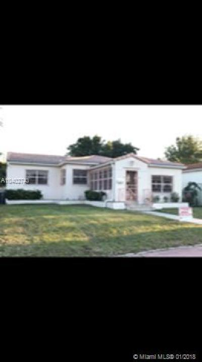 Miami Beach Single Family Home For Sale: 1580 71st St