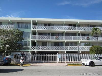 Miami Beach Condo For Sale: 1400 Pennsylvania Ave #39