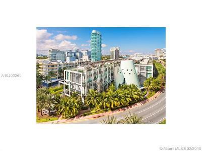 Miami Beach Condo For Sale: 6000 Collins Av #118