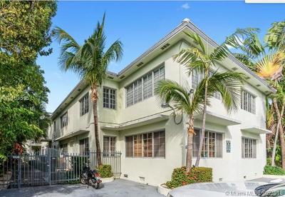 Miami Beach Condo For Sale: 840 Lenox Ave #6