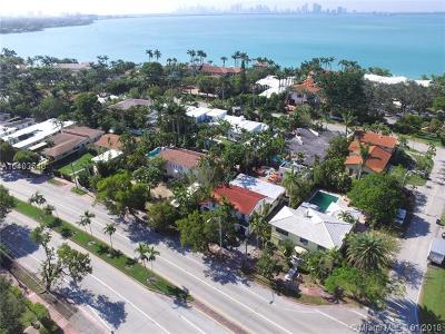Miami Single Family Home For Sale: 5780 Alton Rd
