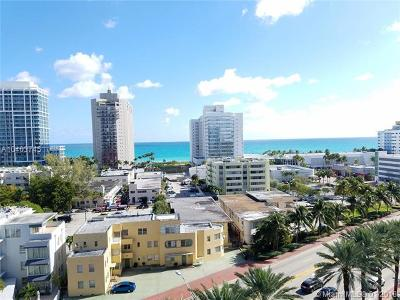 Miami Beach Condo For Sale: 6770 Indian Creek Dr #10A