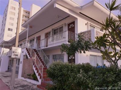 Miami Beach Condo For Sale: 520 79th St #6