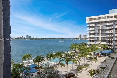 Miami Beach Condo For Sale: 800 West Ave #509