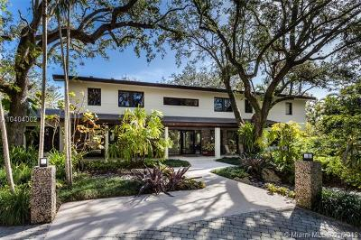 Coral Gables FL Single Family Home For Sale: $5,750,000
