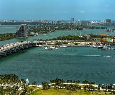 Miami Condo For Sale: 900 Biscayne Blvd #3910
