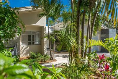 Coconut grove Single Family Home For Sale: 3091 Lucaya St