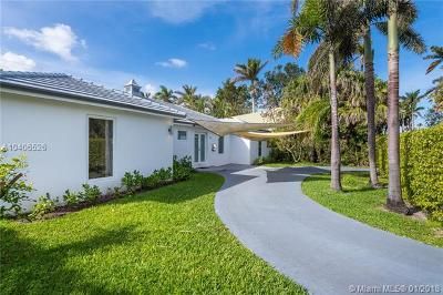 North Bay Village Single Family Home For Sale: 7430 Beachview Dr
