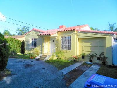 Miami Single Family Home For Sale: 3024 SW 6th St