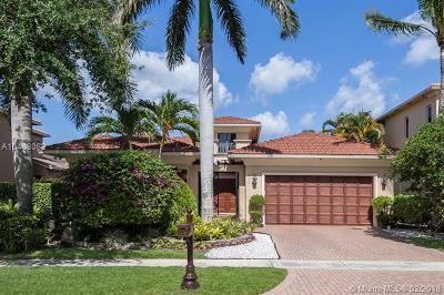 boca raton Single Family Home For Sale: 17944 Villa Club Way