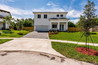 Cutler Bay Single Family Home For Sale: 20641 SW 79th Ct
