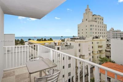 Miami Beach Condo For Sale: 1255 Collins Ave #708
