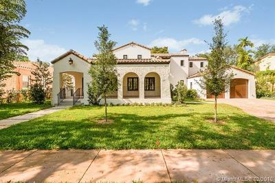 Coral Gables Single Family Home For Sale: 1117 Asturia Ave
