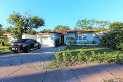 Coral Gables Single Family Home For Sale: 645 Bird Rd