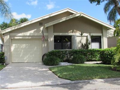 Coconut Creek Single Family Home For Sale: 4342 Acacia Cir