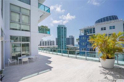 Miami Beach Condo For Sale: 201 Aqua Av #803