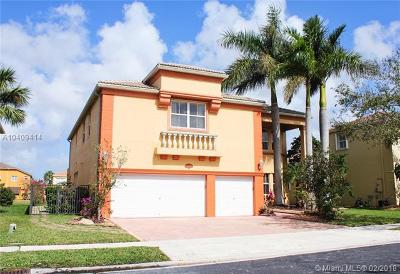 Pembroke Pines Single Family Home For Sale: 16753 SW 12th St