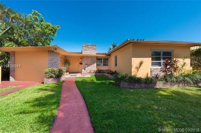 Miami Beach Single Family Home For Sale: 2925 Prairie Ave