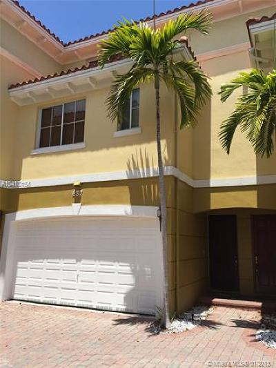 Fort Lauderdale Condo For Sale: 637 NE 11th Ave