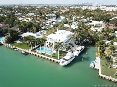 Key Biscayne Single Family Home For Sale: 100 Cape Florida Dr