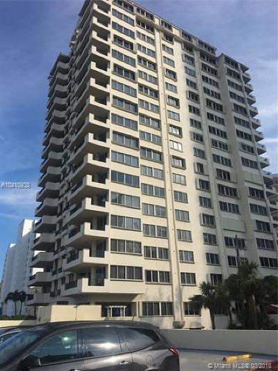 Miami Beach Condo For Sale: 6422 Collins Ave #603