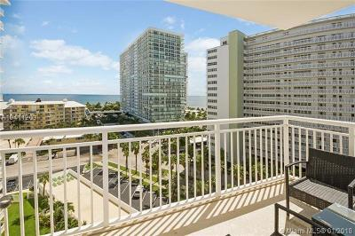 Fort Lauderdale Condo For Sale: 1920 S Ocean Dr #1009