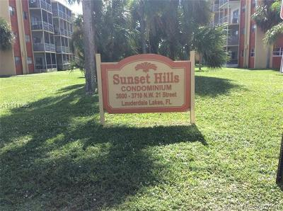 Lauderdale Lakes Condo For Sale: 3700 NW 21 St #109