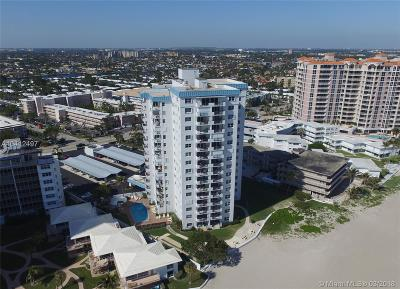 Lauderdale By The Sea Condo For Sale: 1500 S Ocean Blvd #1505