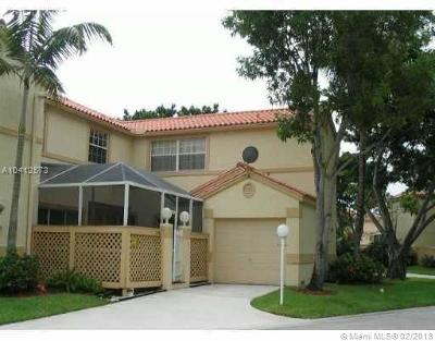 Cooper City Condo For Sale: 11086 Long Boat Dr